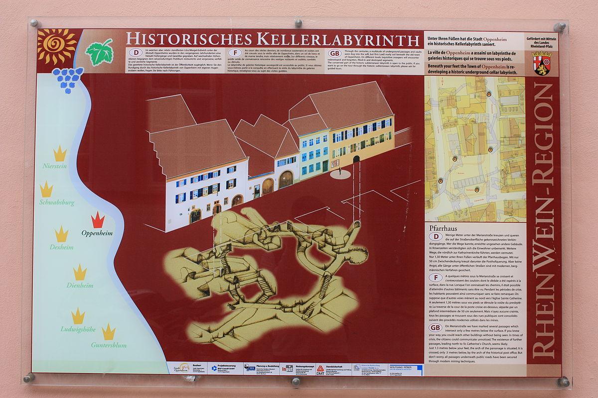 Oppenheimer Kellerlabyrinth – Wikipedia