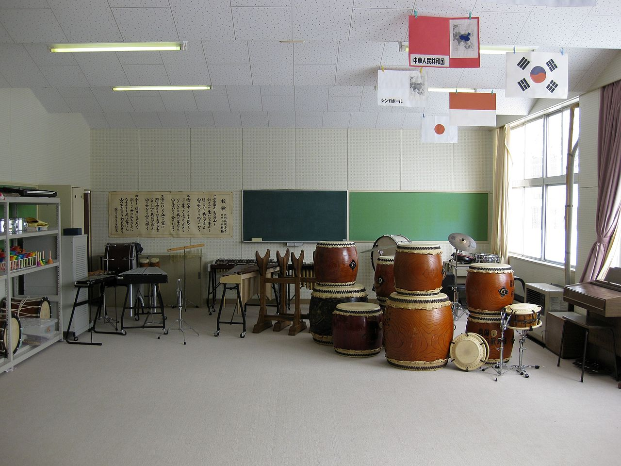 File hitane elementary school music room wikimedia for Schoolhouse music