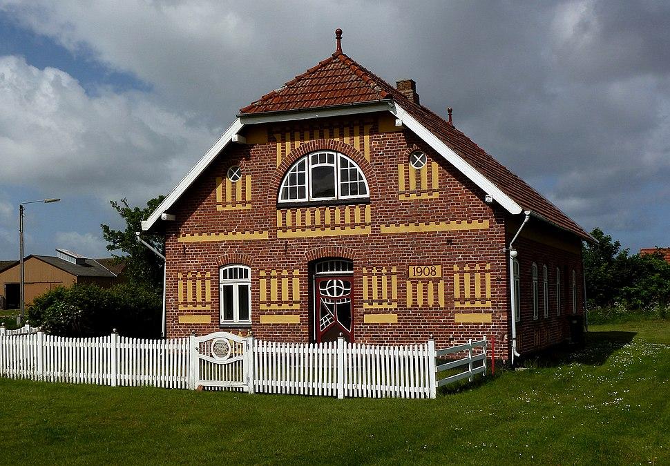 Jugendstilshuset, Hjerpsted, Tønder (1908)