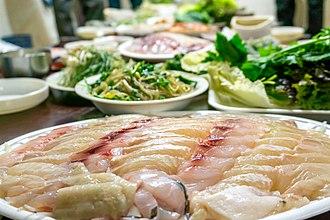 Hoe (food) - Image: Hoe (raw fish)