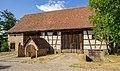 Hohenloher Freilandmuseum - Baugruppe Hohenloher Dorf - Stall-Scheune aus Langensall.jpg