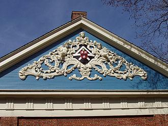 Holden Chapel - Holden Chapel detail.