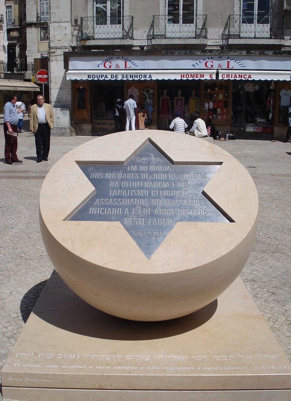 Homenagem aos Judeus - Massacre de Lisboa de 1506