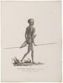 Homo sapiens - Aboriginal, Australië - 1700-1880 - Print - Iconographia Zoologica - Special Collections University of Amsterdam - UBA01 IZ19500003.tif
