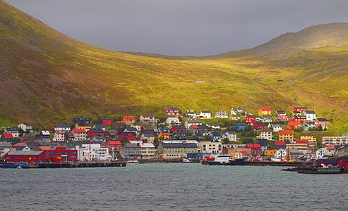 Honningsvåg, one of the northernmost cities in the world.