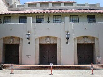 Honolulu Hale - Image: Honolulu Hale frontdoors