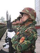 Honor guard of the People's Liberation Army