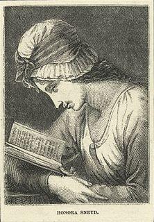 Honora Sneyd English writer (1751-1780)