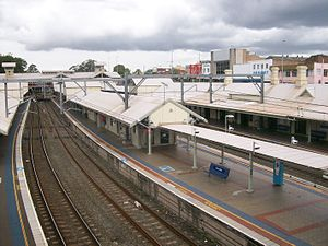 Hornsby railway station platform 1 & 2 from footbridge.jpg