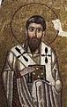 Hosios Loukas (diakonikon) Gregory of Nyssa by shakko.jpg