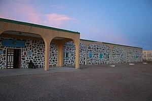 """Tifariti - """"Navarra hospital"""" in Tifariti, Western Sahara. (December 3, 2009)."""