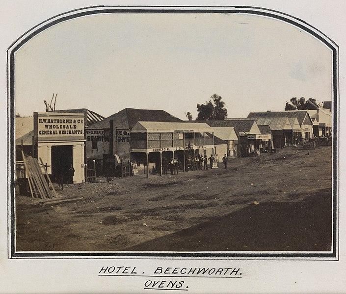 File:Hotel. Beechworth. Ovens. (8416664928).jpg