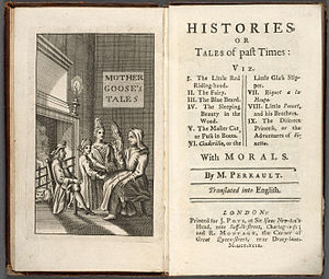 Histoires ou contes du temps passé - From the only known copy of the first English edition, 1729 (Houghton Library)
