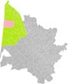 Hourtin (Gironde) dans son Arrondissement.png