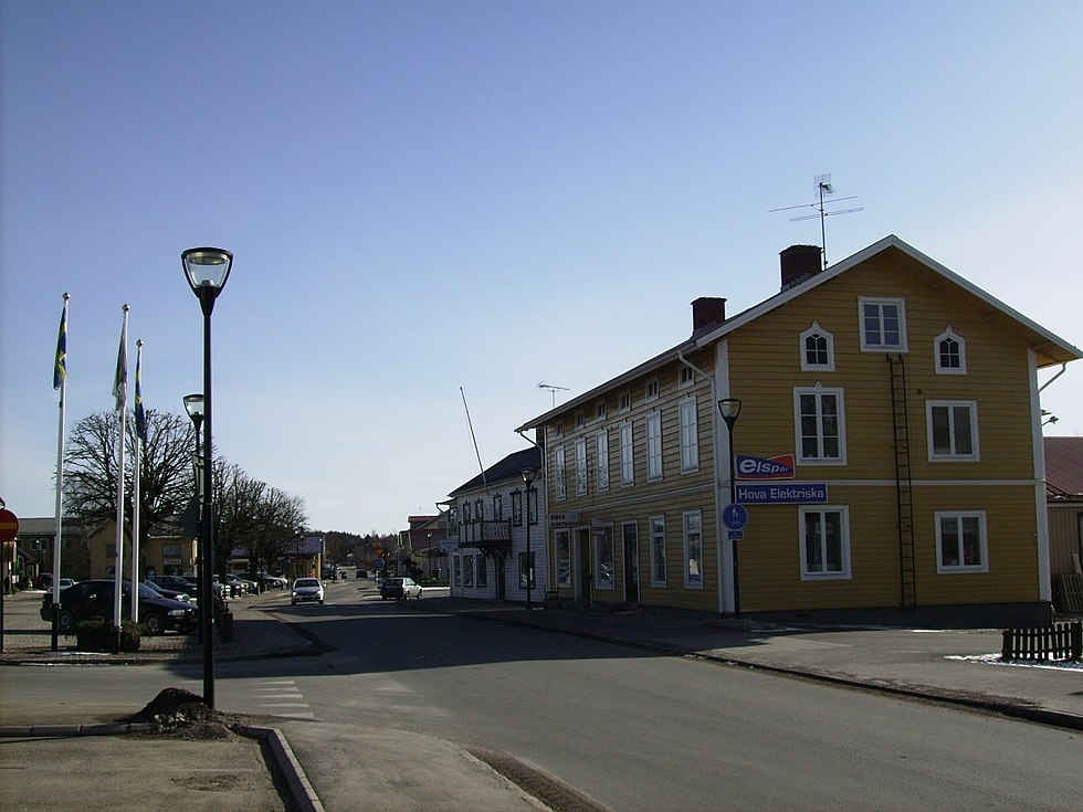 Inga-Maj Johansson, Stationsgatan 11, Hova | omr-scanner.net