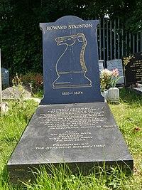 Howard Staunton, Kensal Green Cemetery 01.JPG