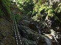 Hrabušice, Slovenský ráj, Suchá Belá, Okienkový vodopád.JPG
