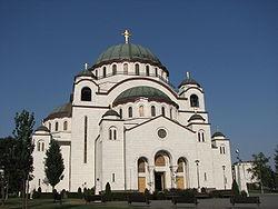 Temple of Saint Sava, central Belgrade