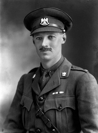Hugh Fortescue, 5th Earl Fortescue - Viscount Ebrington in 1919, an officer in the Royal Scots Greys