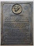 Hulley plaque, Lifestyles, Park Road.jpg