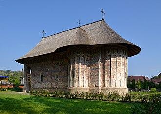 Humor Monastery - Image: Humor Monastery, Romania