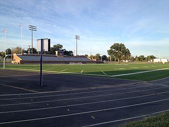 Pittsburg High School (Kansas) - Image: Hutchinson Field 02