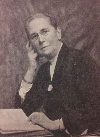 A photograph of Hypatia Bradlaugh Bonner