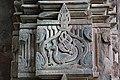 IChandramouleshwar Temple, Artistic and minute cuttings of peacock on the frame of door entrance carved in Chalukya style.jpg