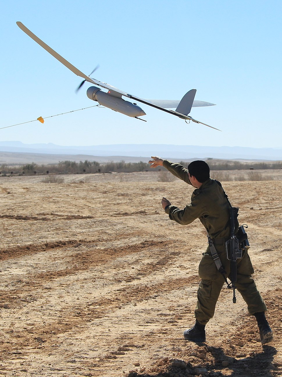 IDF Sylark Drone Flight Training
