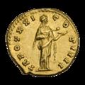 INC-2956-r Ауреус. Антонин Пий. Ок. 157—158 гг. (реверс).png