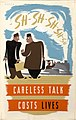 INF3-278 Anti-rumour and careless talk Careless talk costs lives Artist Reeves.jpg
