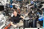 ISS-56 Alexander Gerst works in the Destiny module (2).jpg