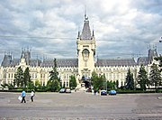 The Palace of Culture in Iaşi was built in 1925 and hosts several museums