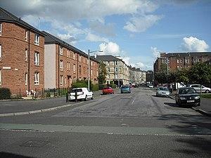 Ibrox, Glasgow - Image: Ibrox Street geograph.org.uk 1435215