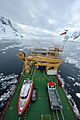 Ice Patrol Vessel HMS Protector in the Antarctic MOD 45153585.jpg