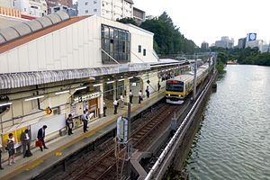 Ichigaya Station - Ichigaya Station JR platforms, 2015