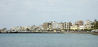 Ierapetra - View of town port.