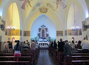 Iglesia de nuestra se ora de los ngeles el golf for Ministerio del interior donde queda