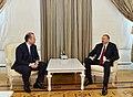 Ilham Aliyev received the Prime Minister of Malta, 2015 02.jpg