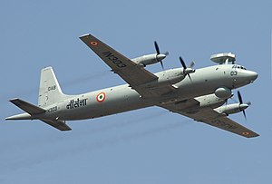 Ilyushin Il-38 - Ilyushin Il-38SD of the Indian Navy in 2007.