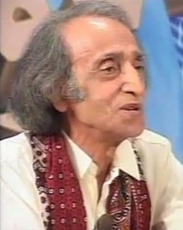 Imdad a Hussaini poet reciting poetry in program of KTN Chanel Karachi, Sindh Pakistan.jpg
