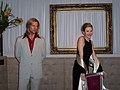 InSapphoWeTrust - Brad Pitt and Julia Roberts at Madame Tussauds London (8481389580).jpg