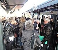 Inauguration de la branche vers Vieux-Condé de la ligne B du tramway de Valenciennes le 13 décembre 2013 (098).JPG