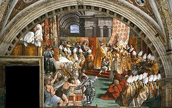 Incoronazione di carlo magno wikipedia for Decorazione stanze vaticane