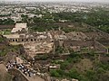 India - Hyderabad - 077 - view over the ruined palace of Golconda Fort (3920118211).jpg