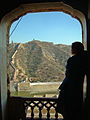 India - Jaipur2 - 022 - silhouette from the Amber Fort (2179311926).jpg