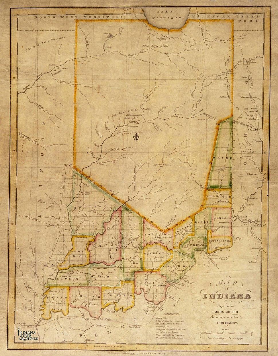 Indiana, 1817