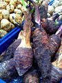 Indonesian local taro corms.jpg
