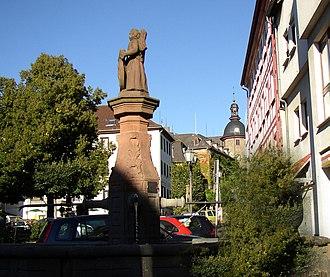 Laubach - Image: Innenstadt Laubach