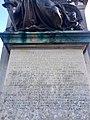 Inscriptions on South African War Memorial, Cardiff, December 2020 02.jpg